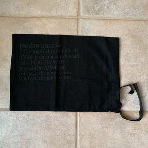 Pedro Garcia🖤Black shoe dust bags